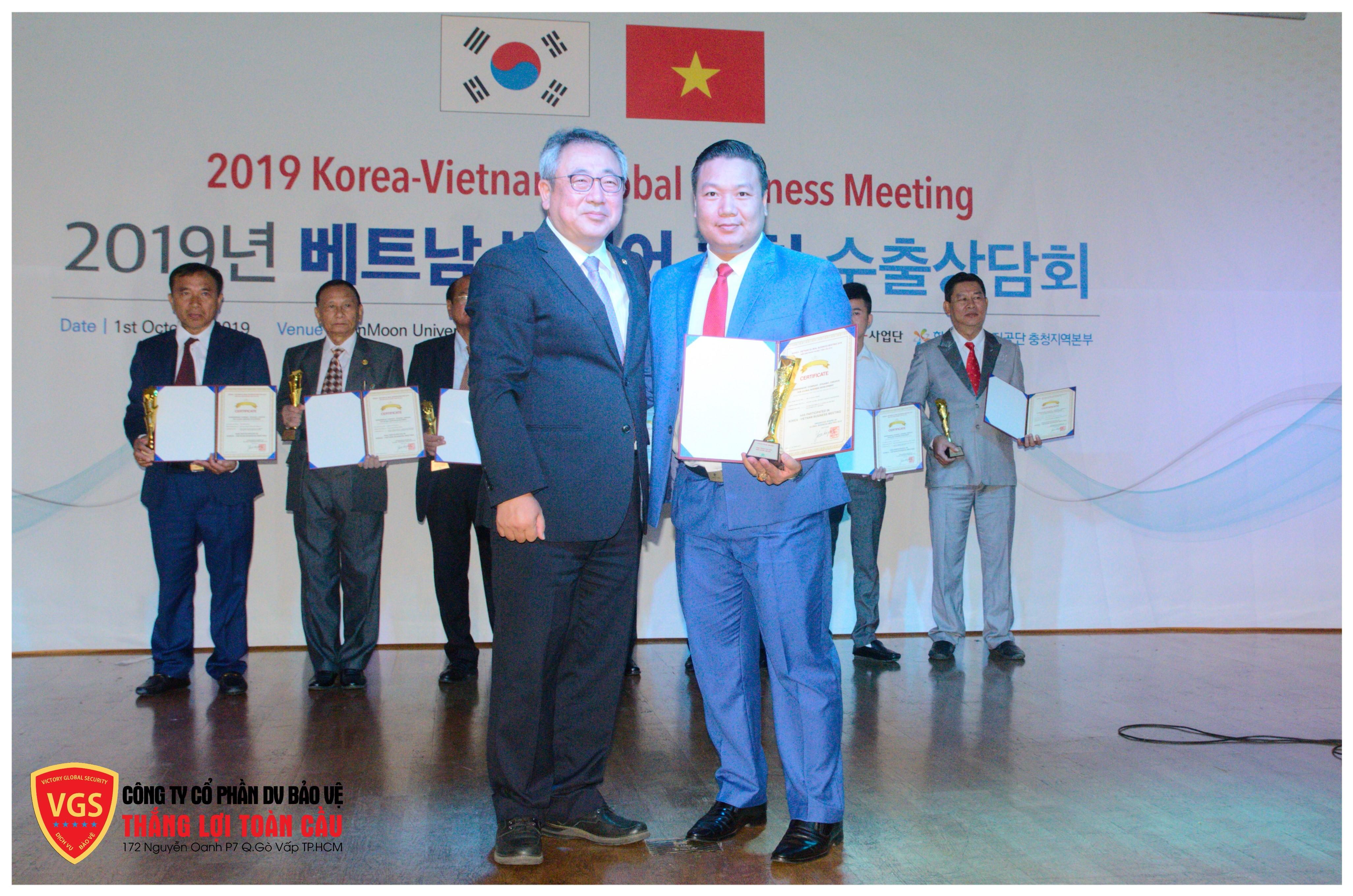 Thắng Lợi Toàn Cầu– VGS được vinh danh tại Hàn Quốc  - Ảnh 3