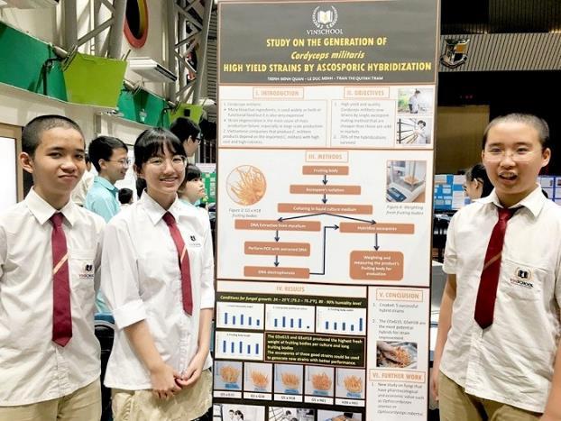 Lần đầu tham dự cuộc thi nghiên cứu khoa học quốc tế: 2 nhóm học sinh Việt xuất sắc mang về giải bạc và giải đồng  - Ảnh 5