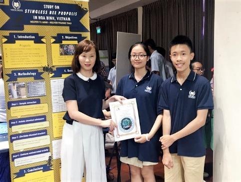 Lần đầu tham dự cuộc thi nghiên cứu khoa học quốc tế: 2 nhóm học sinh Việt xuất sắc mang về giải bạc và giải đồng  - Ảnh 3