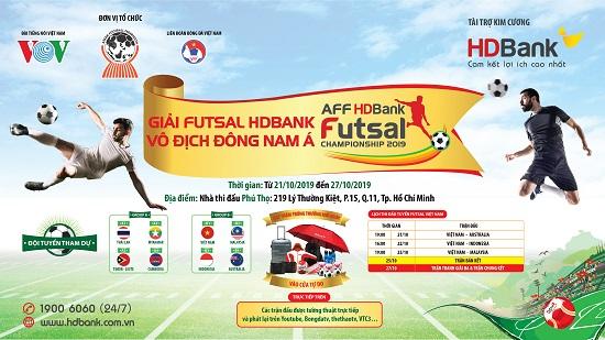 Hàng ngàn quà tặng dành cho khách hàng gửi tiết kiệm đồng hành cùng giải Futsal HDBank Đông Nam Á  - Ảnh 2