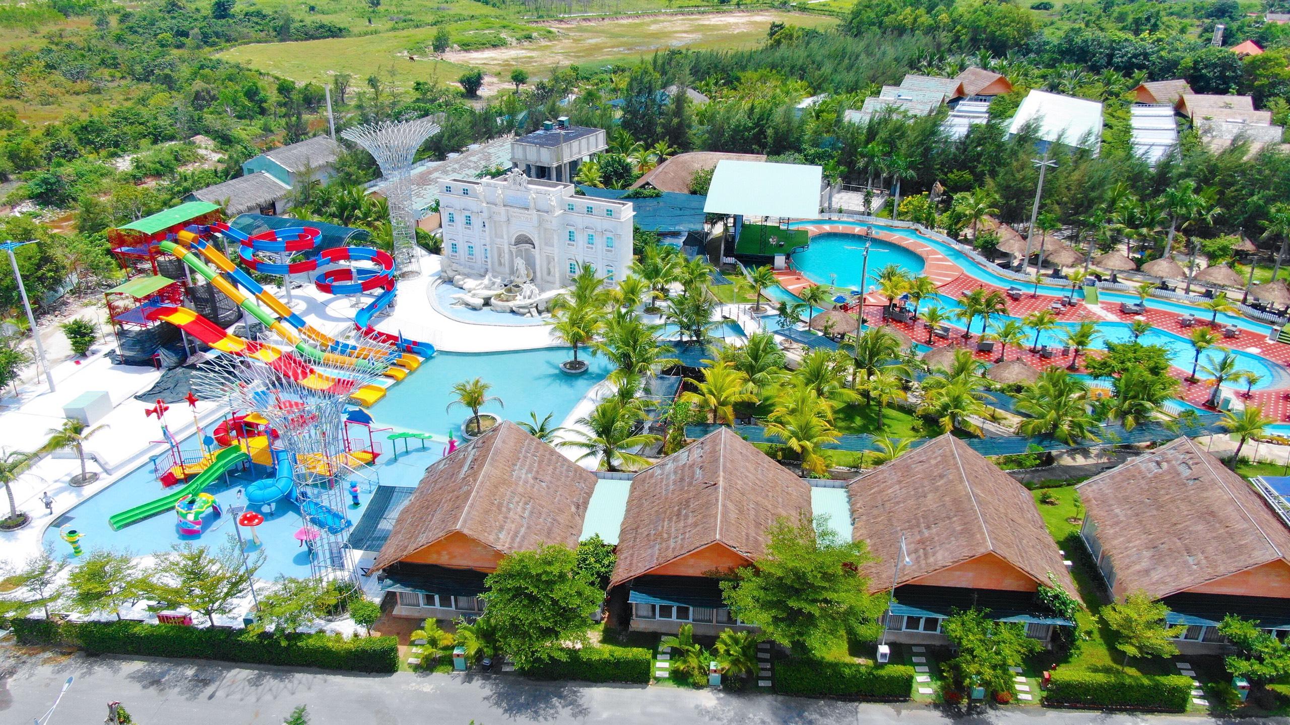 Sắp xuất hiện công viên hồ khoáng duy nhất tại Bình Châu lên tới 12.000m2 tại biệt thự nghỉ dưỡng Eco Bangkok Villas Bình Châu - Ảnh 1