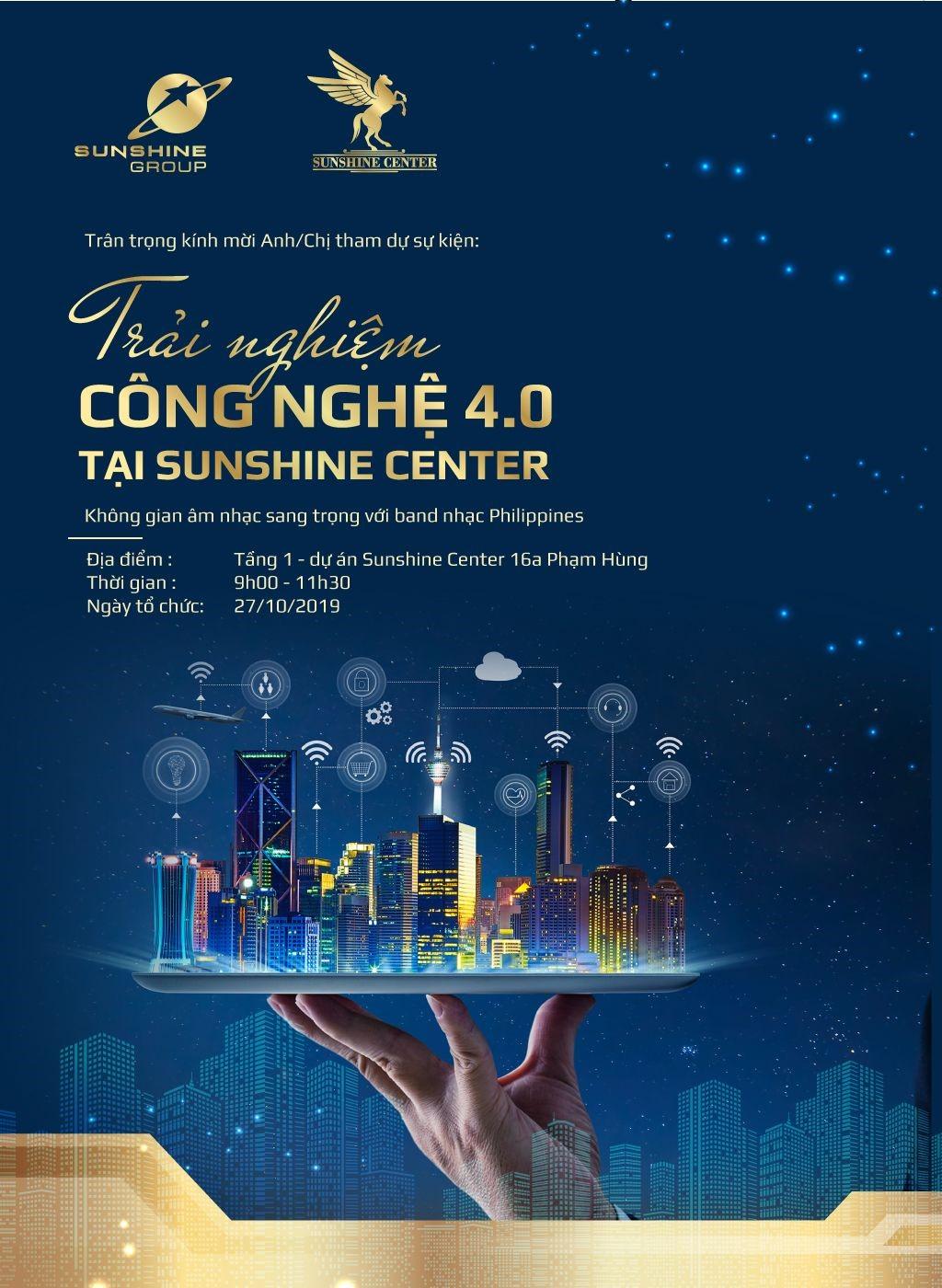 """Khám phá cuộc sống công nghệ """"một điểm chạm"""" như trong mơ tại Sunshine Center  - Ảnh 3"""