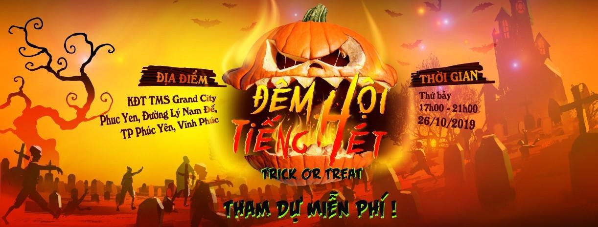 Thách thức giới trẻ bằng lễ hội Halloween siêu kinh dị - Ảnh 1