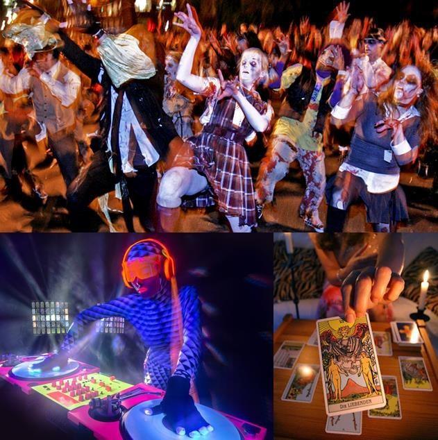 Thách thức giới trẻ bằng lễ hội Halloween siêu kinh dị - Ảnh 3