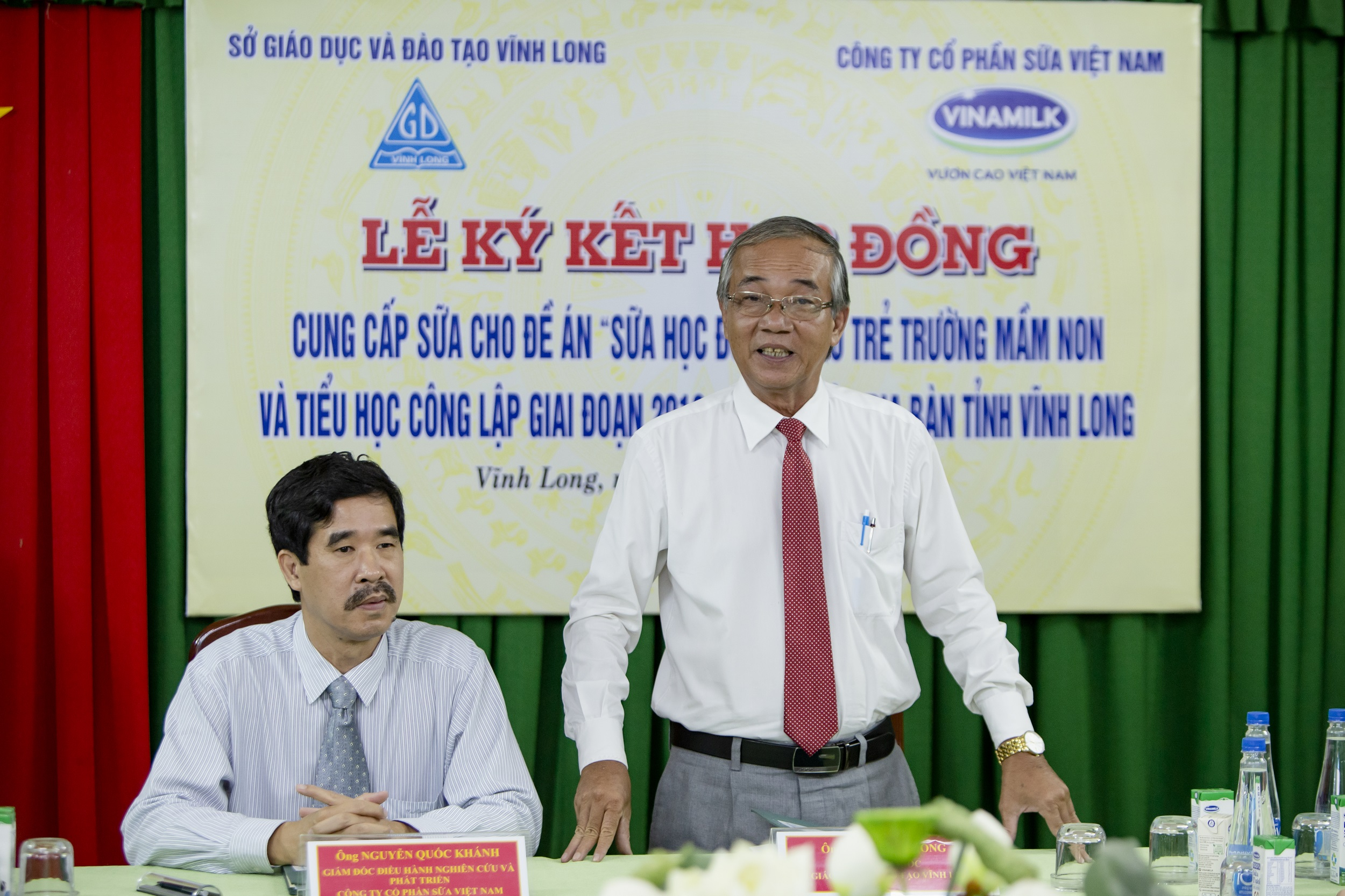 70.000 trẻ em ở Vĩnh Long sẽ thụ hưởng chương trình sữa học đường  - Ảnh 2