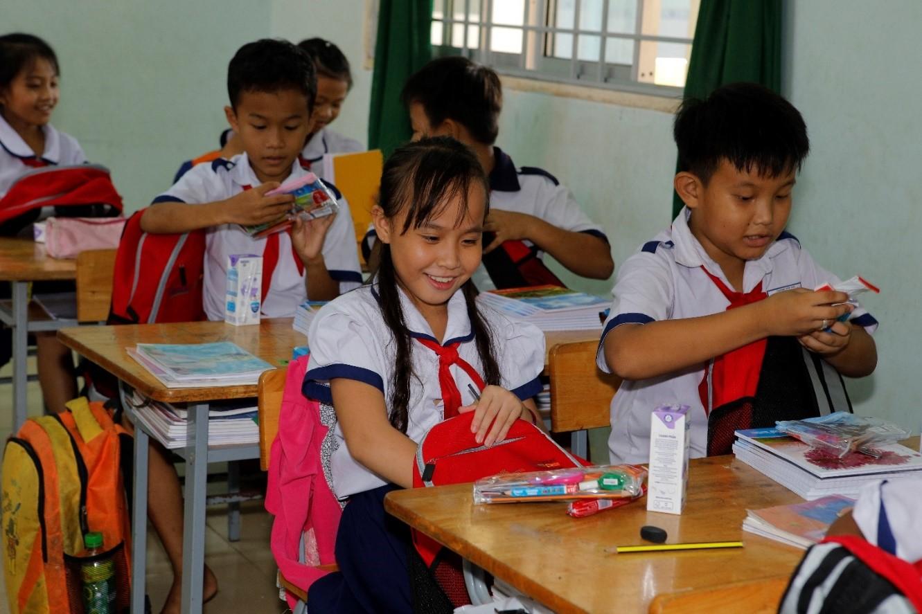 """Hơn 1.000 học sinh nhận quà trong """"Ngày Thiện nguyện CapitaLand"""" - Ảnh 4"""