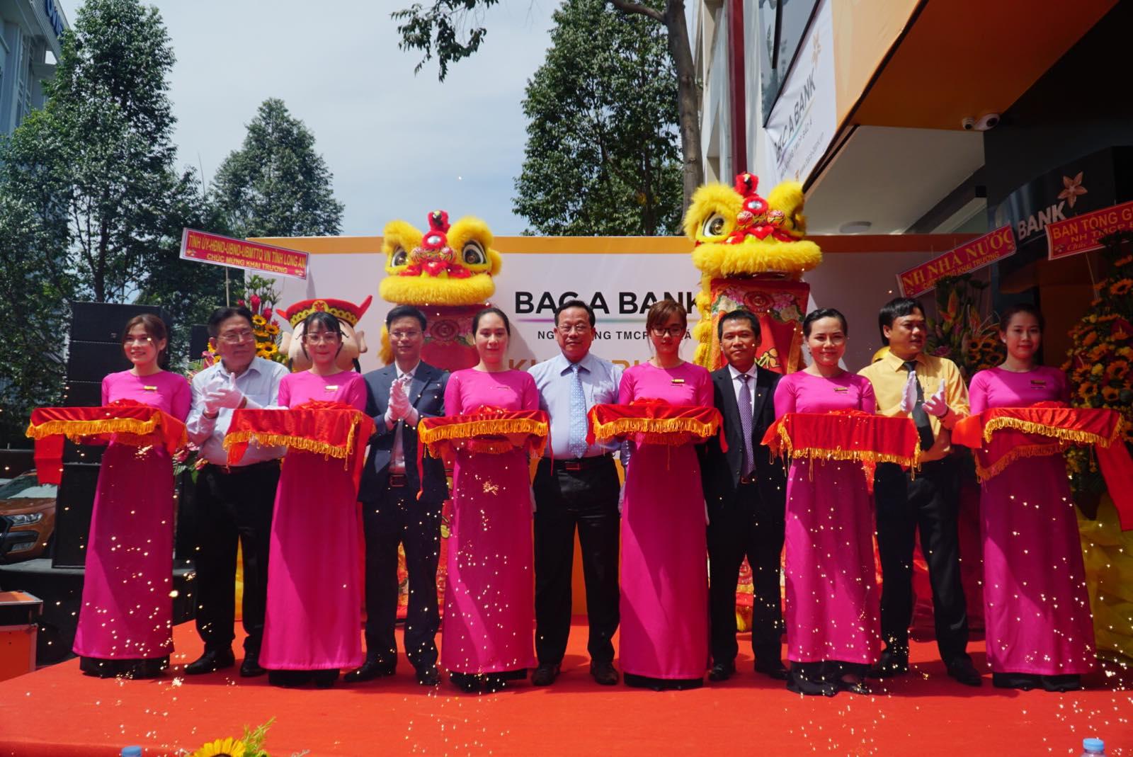 BAC A BANK khai trương chi nhánh mới, gia nhập thị trường tài chính Long An  - Ảnh 1