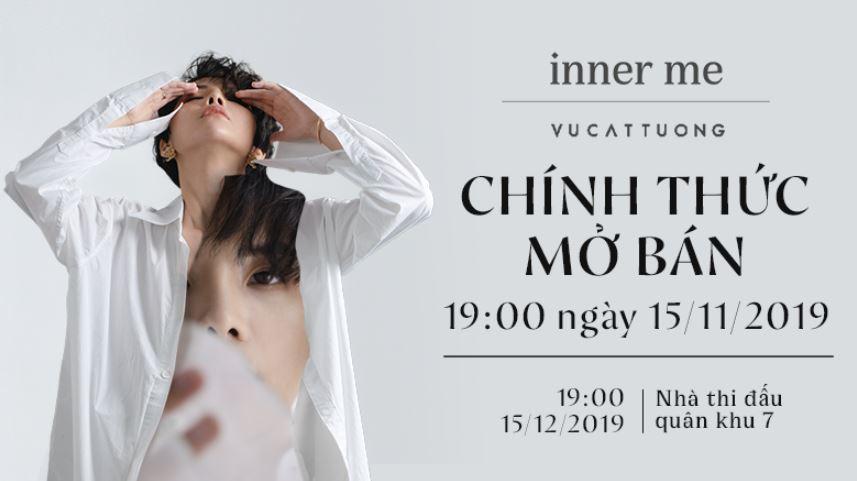 """Concert """"Inner Me"""" của Vũ Cát Tường mở bán trên ứng dụng VinID 19h tối nay!  - Ảnh 2"""