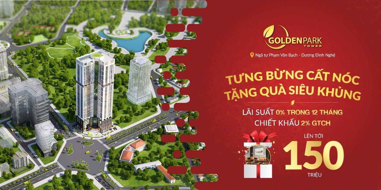 Mở bán đợt cuối, chào mừng cất nóc dự án Golden Park Tower  - Ảnh 2