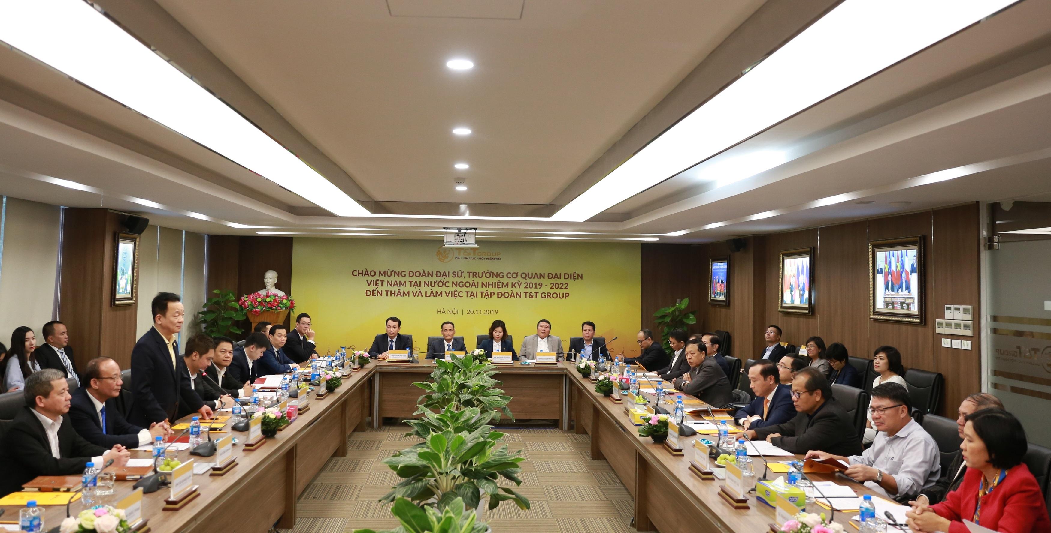 T&T Group là lựa chọn tốt để tạo cú hích hợp tác kinh tế quốc tế - Ảnh 1