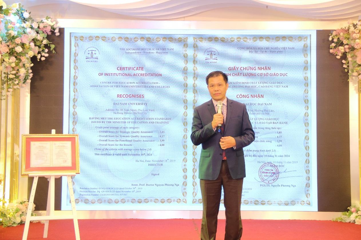 ĐH Đại Nam chính thức đạt kiểm định chất lượng cơ sở giáo dục theo tiêu chuẩn mới của Bộ GD&ĐT  - Ảnh 5