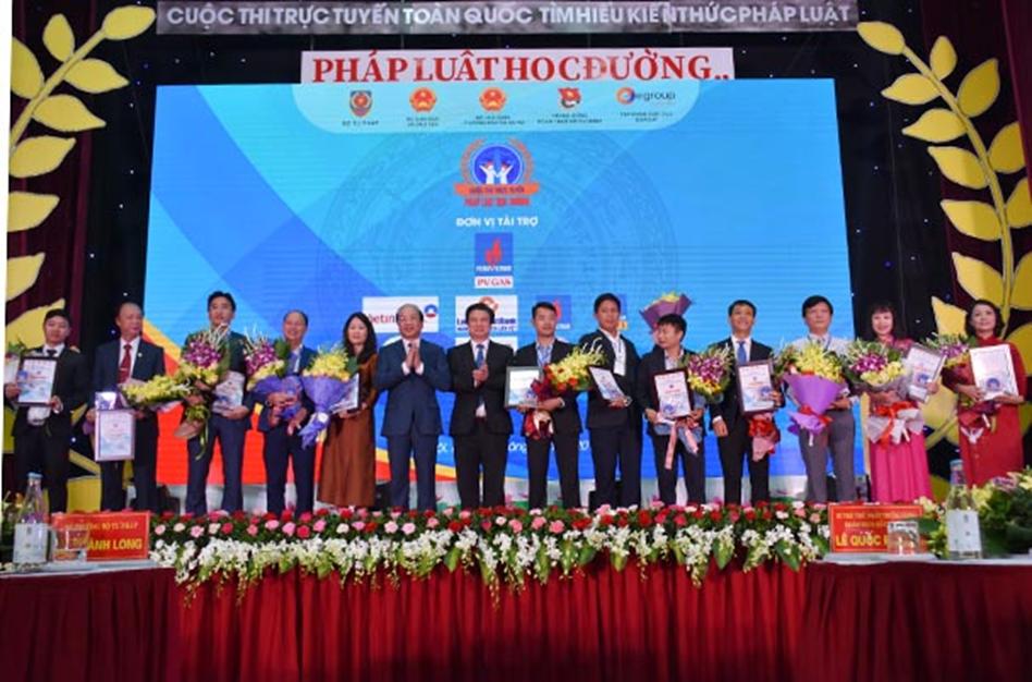 """Tập đoàn Dầu khí Việt Nam – tiếp thêm """"năng lượng"""" cho cuộc thi """"Pháp luật học đường""""  - Ảnh 1"""
