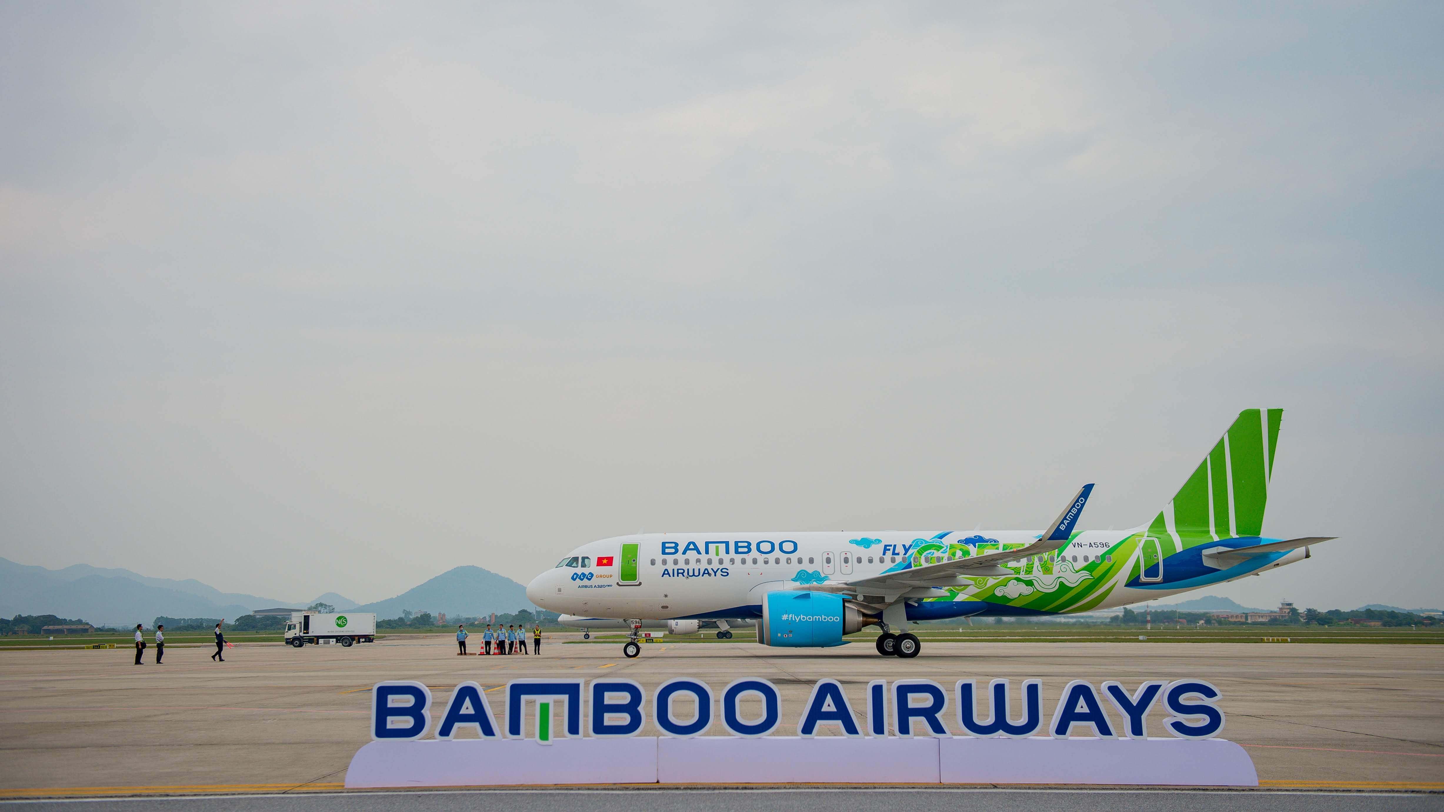 """Bamboo Airways đón máy bay Airbus A320neo đầu tiên trong chiếc áo """"Fly Green"""" ấn tượng  - Ảnh 3"""