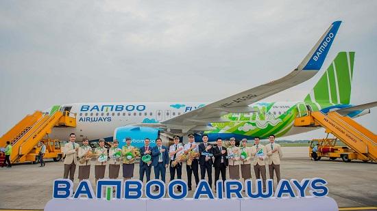 """Bamboo Airways đón máy bay Airbus A320neo đầu tiên trong chiếc áo """"Fly Green"""" ấn tượng  - Ảnh 1"""