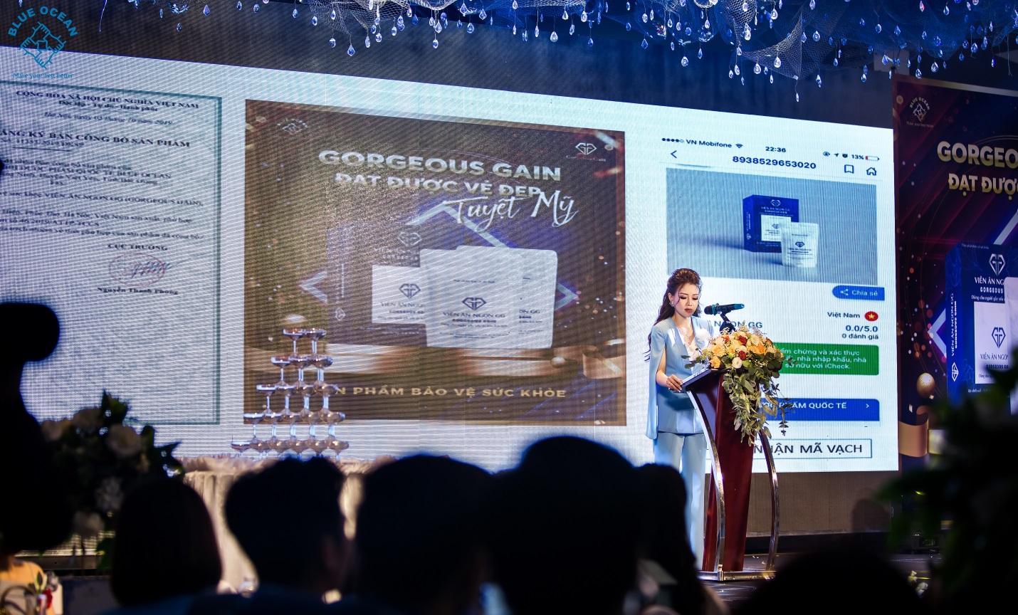 Công ty dược phẩm quốc tế Blue Ocean tổ chức lễ giới thiệu sản phẩm mới và vinh danh hệ thống nhà phân phối xuất sắc  - Ảnh 1