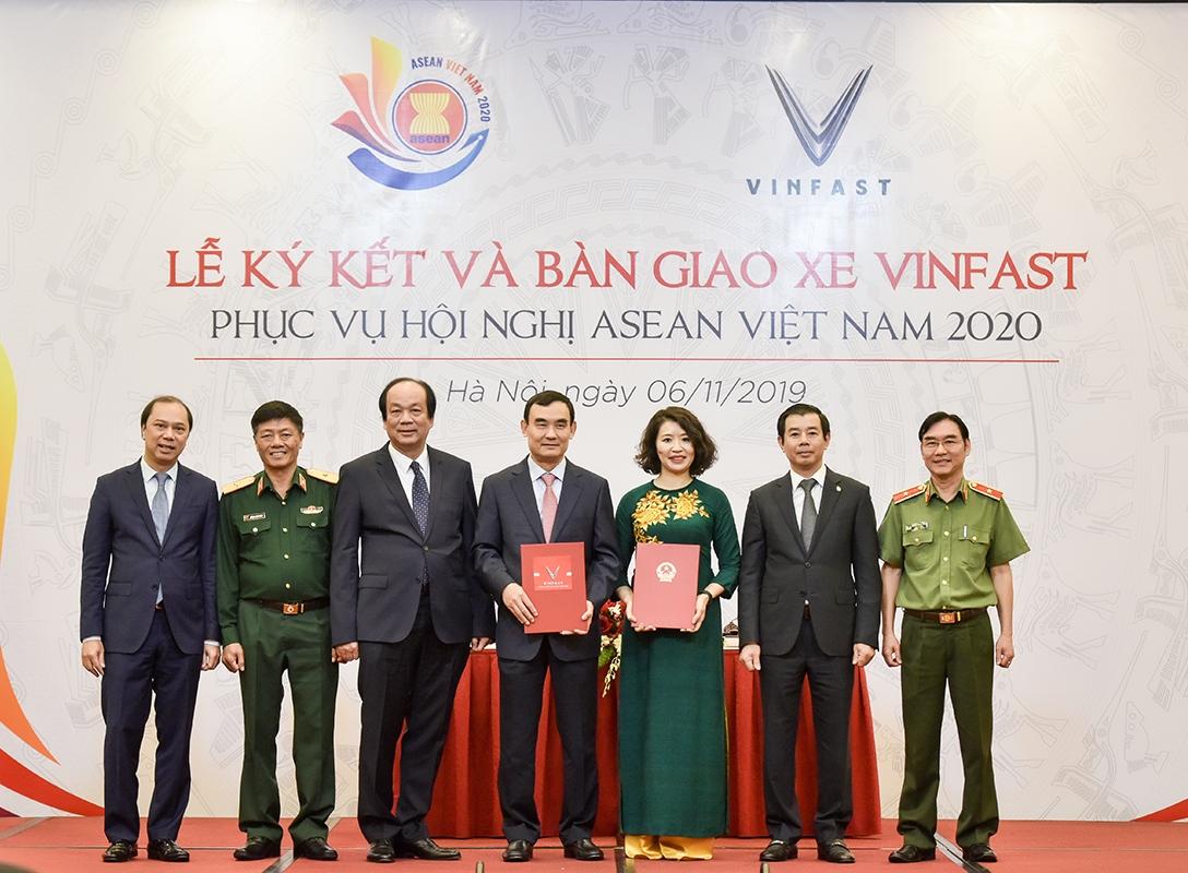 VinFast là phương tiện di chuyển chính thức của Asean 2020  - Ảnh 1
