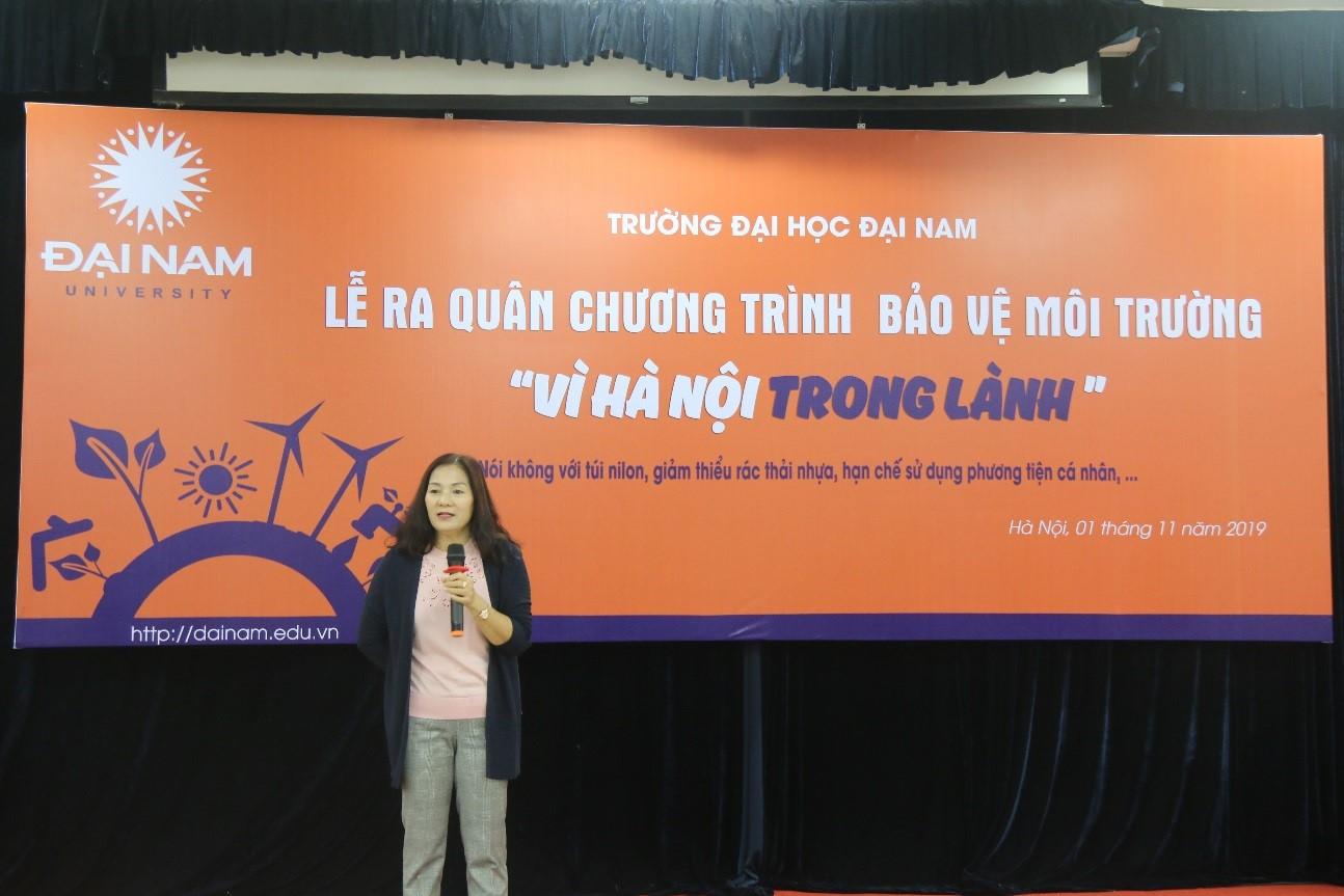 Trường đại học đầu tiên ở Hà Nội ngừng sử dụng đồ nhựa 1 lần  - Ảnh 2