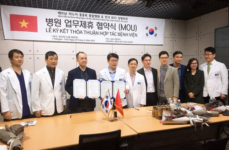 Thẩm mỹ Hồng Ngọc kí kết thỏa thuận hợp tác với BIO Plastic Surgery - bệnh viện thẩm mỹ hàng đầu Hàn Quốc  - Ảnh 2
