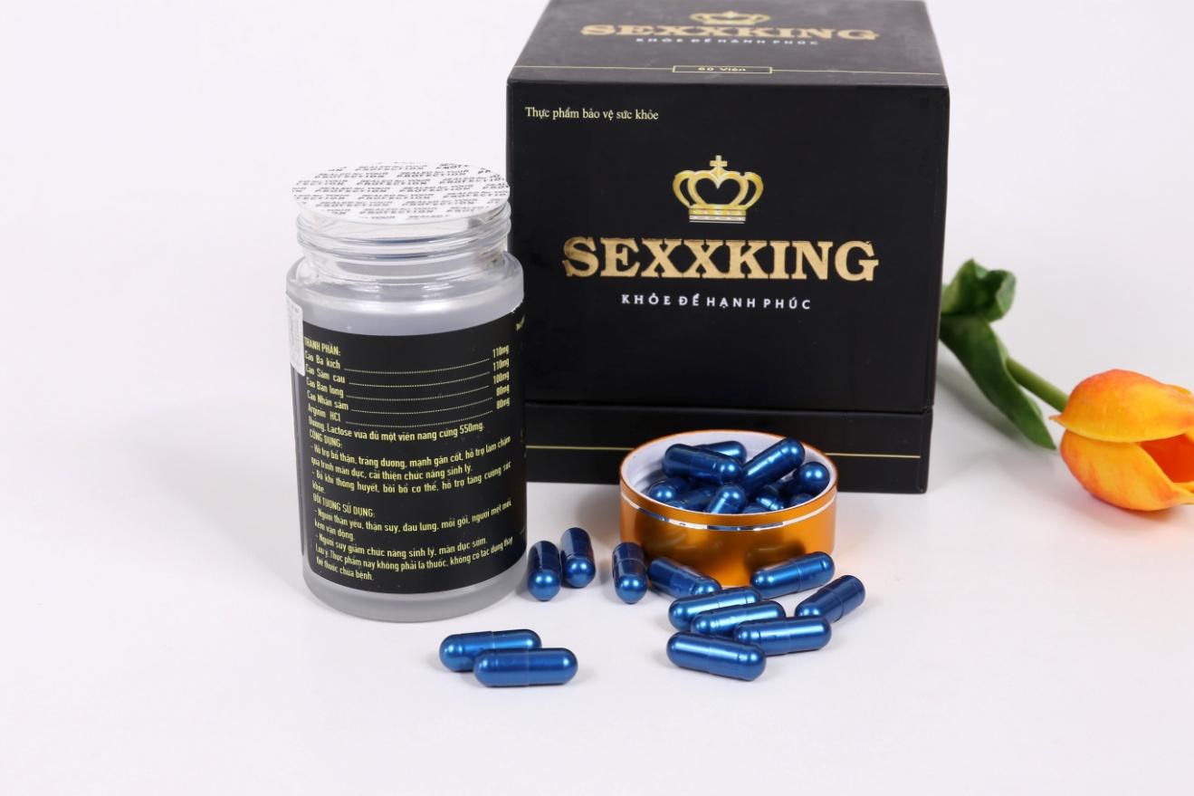 Thực phẩm bảo vệ sức khỏe SEXXKING – Bổ thận tráng dương cải thiện sinh lý ngay từ tuần đầu sử dụng - Ảnh 4