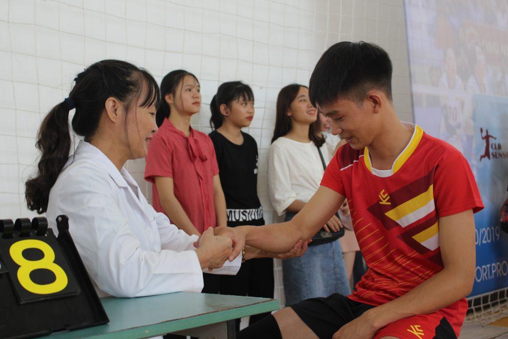"""Bệnh viện An Việt tài trợ, đồng hành cùng giải bóng chuyền """"hot"""" nhất thủ đô  - Ảnh 4"""