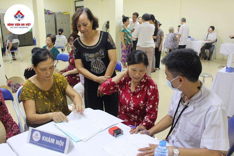 Bệnh viện đa khoa An Việt khám, cấp thuốc miễn phí tại phường Phương Liệt  - Ảnh 6