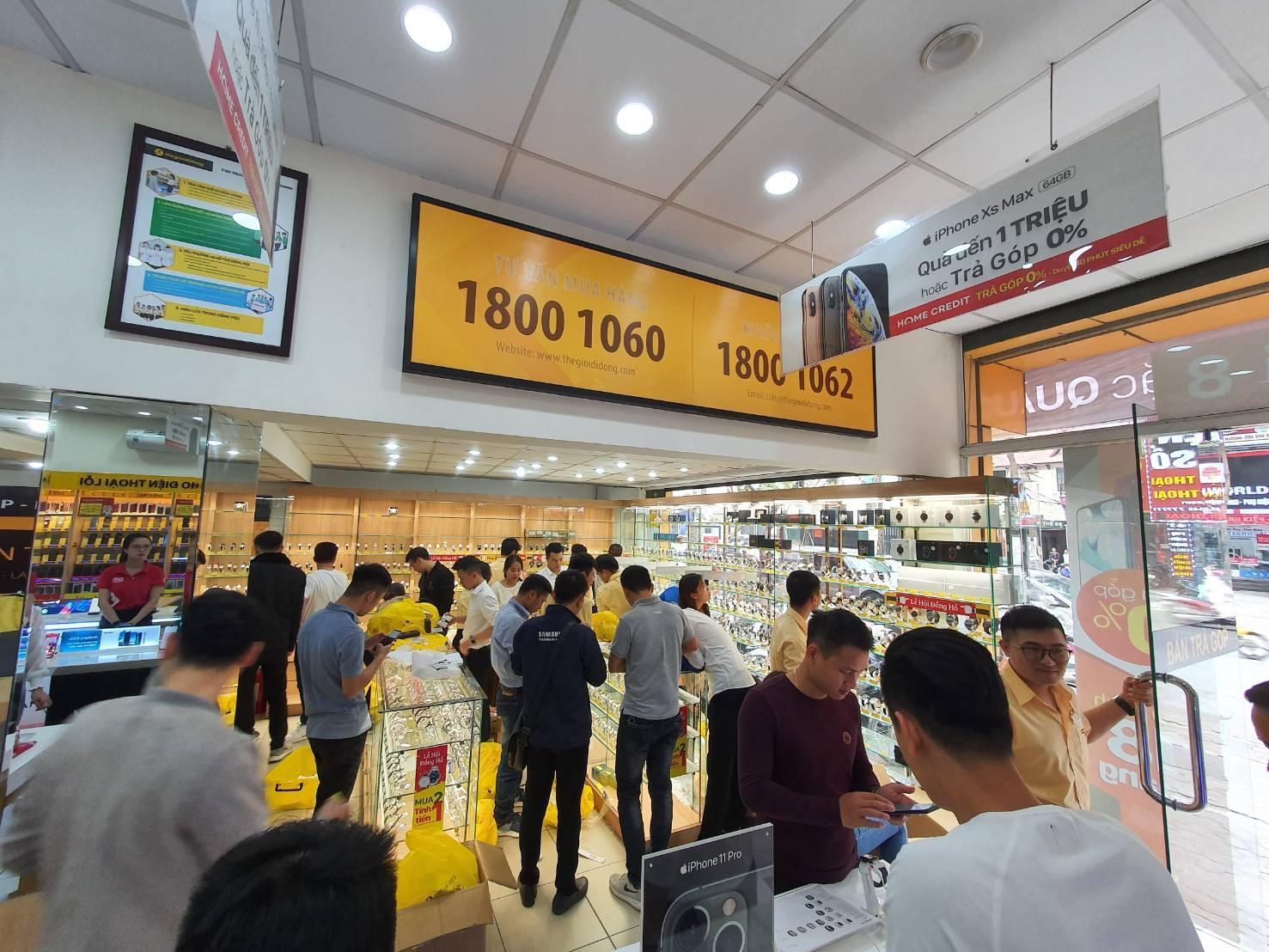 Đồng hồ Thế Giới Di Động bắt đầu công phá thị trường miền Bắc  - Ảnh 1