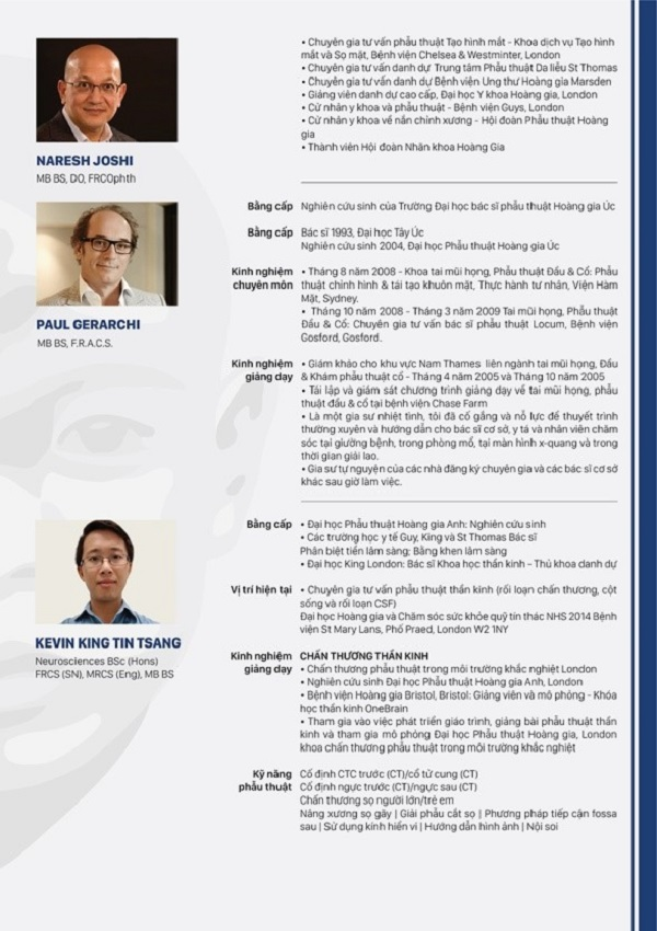Bệnh viện Hồng Ngọc phối hợp Facing the World tổ chức Hội thảo nâng cao chuyên môn Mắt – Tai mũi họng – Phẫu thuật thẩm mỹ - Ảnh 2