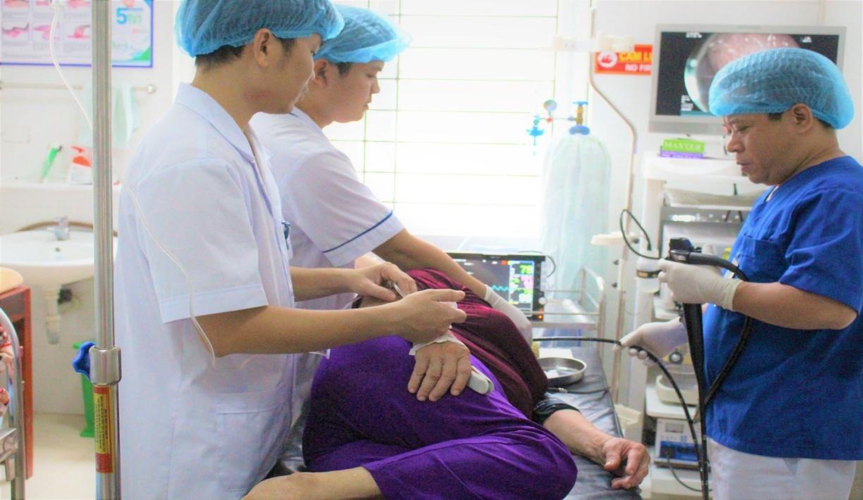 Trung tâm Y tế huyện Đoan Hùng tiếp tục triển khai nhiều kĩ thuật chuyên sâu vào công tác khám chữa bệnh - Ảnh 3