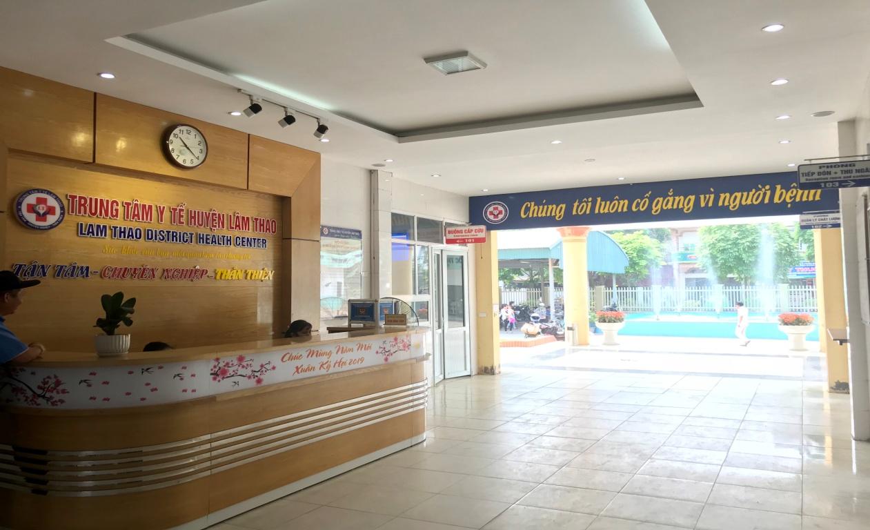 Trung tâm Y tế huyện Lâm Thao: Tạo sự chuyển biến mạnh mẽ trong phổ biến kiến thức pháp luật về phòng cháy, chữa cháy - Ảnh 1