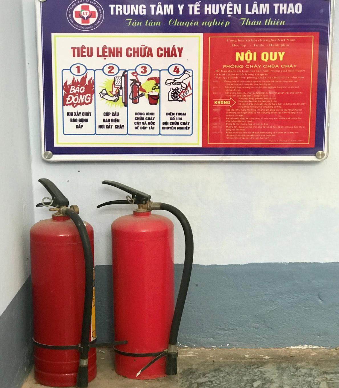 Trung tâm Y tế huyện Lâm Thao: Tạo sự chuyển biến mạnh mẽ trong phổ biến kiến thức pháp luật về phòng cháy, chữa cháy - Ảnh 3