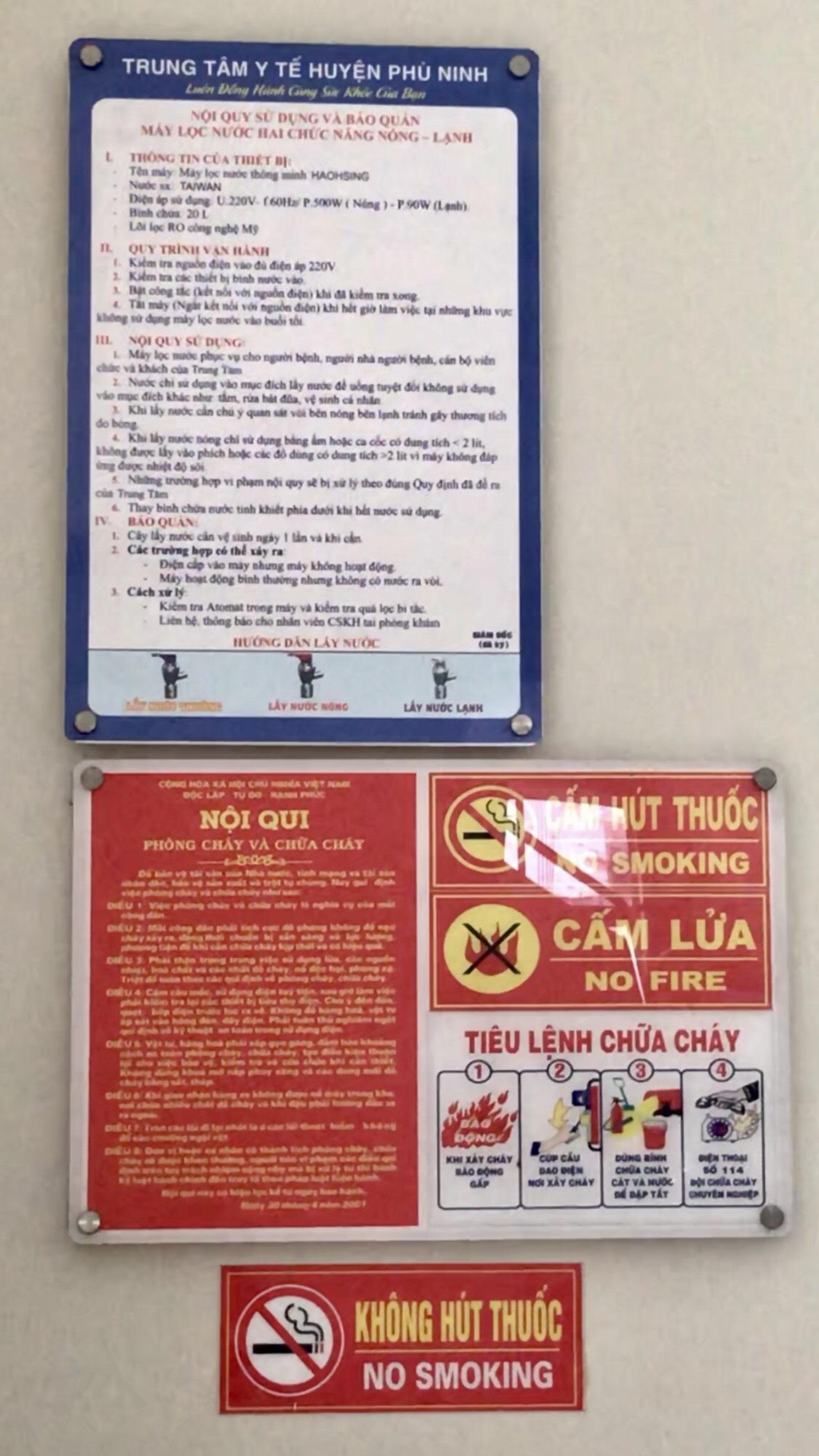 Trung tâm y tế huyện Phù Ninh: Đẩy mạnh việc giám sát phòng cháy, chữa cháy tại cơ sở  - Ảnh 2