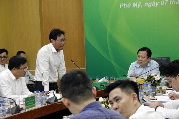 Chủ tịch UBQLVNN Nguyễn Hoàng Anh thăm và làm việc  tại Tổng Công ty Phân bón và Hóa chất Dầu khí (PVFCCo) - Ảnh 4