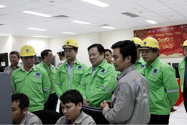 Chủ tịch UBQLVNN Nguyễn Hoàng Anh thăm và làm việc  tại Tổng Công ty Phân bón và Hóa chất Dầu khí (PVFCCo) - Ảnh 1