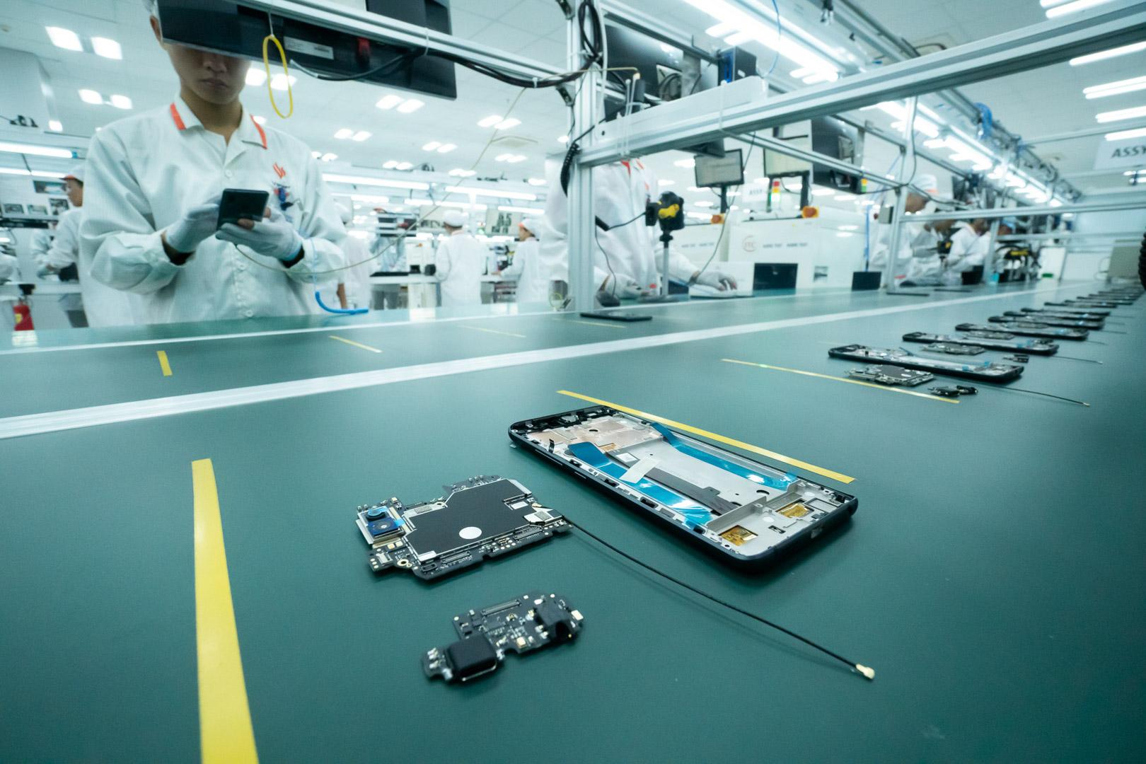 Vingroup khởi công nhà máy điện thoại thông minh công suất 125 triệu máy/năm - Ảnh 3