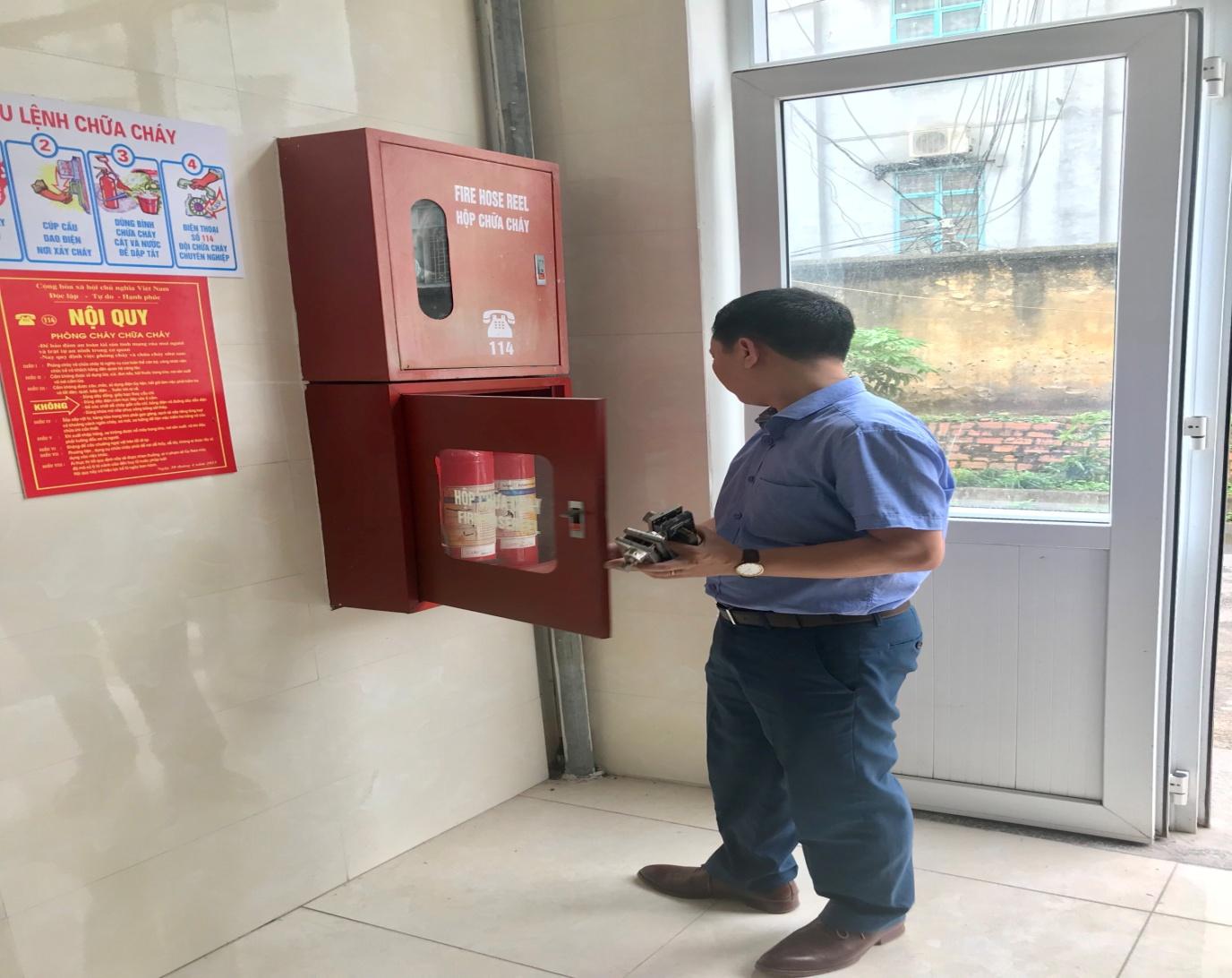 Bệnh viện Y dược cổ truyền và Phục hồi chức năng tỉnh Phú Thọ phòng cháy hơn chữa cháy - Ảnh 1