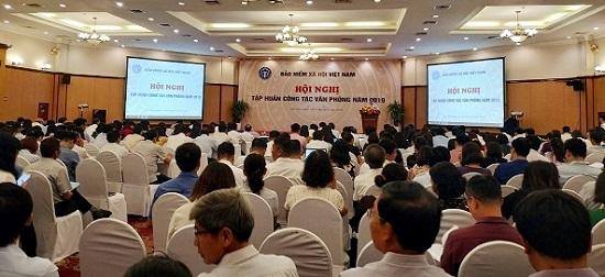 BHXH Việt Nam: Nâng cao bồi dưỡng trình độ cho cán bộ văn phòng  - Ảnh 1