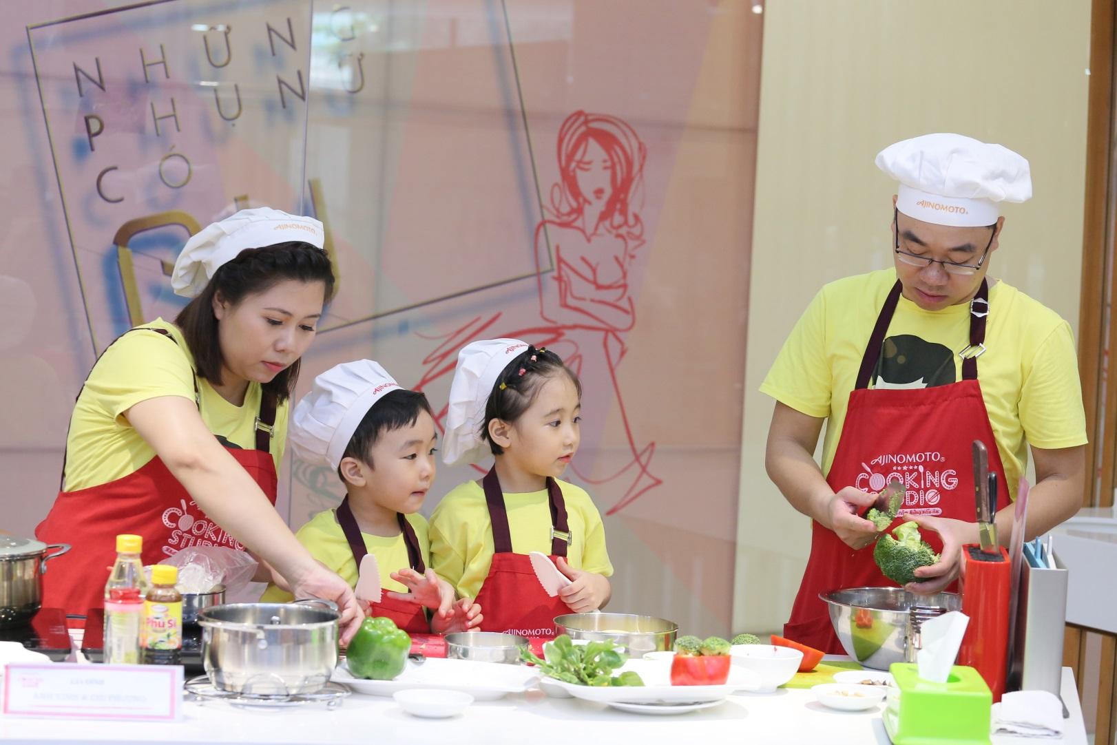 Ajinomoto Cooking Studio – Không gian gắn kết gia đình  - Ảnh 1