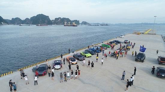 Dàn siêu xe trăm tỷ hội tụ tại Cảng tàu khách quốc tế Hạ Long  - Ảnh 3
