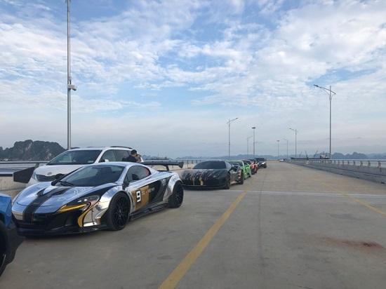 Dàn siêu xe trăm tỷ hội tụ tại Cảng tàu khách quốc tế Hạ Long  - Ảnh 7