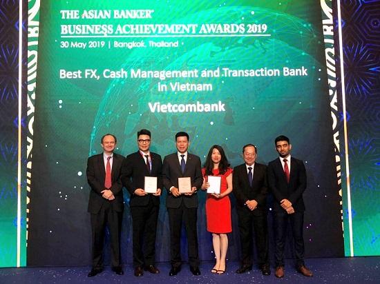 Vietcombank nhận ba giải thưởng quan trọng từ The Asian Banker  - Ảnh 1
