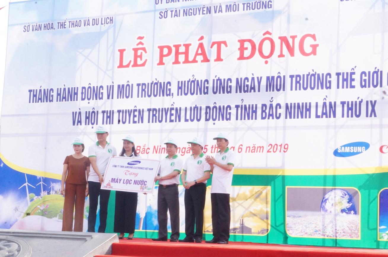 Bắc Ninh phát động Tháng hành động vì môi trường, Ngày môi trường Thế giới  - Ảnh 4