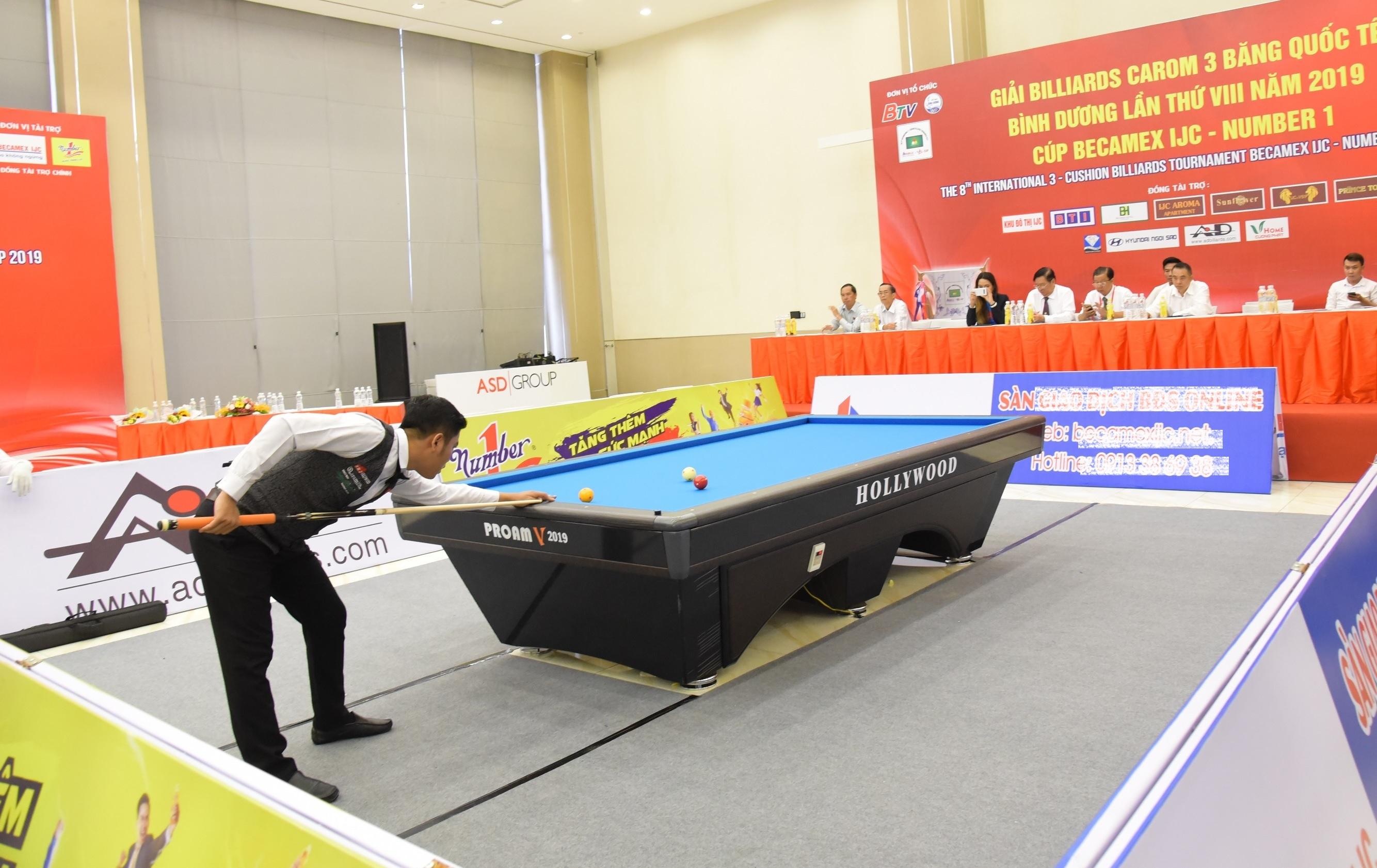 Nước tăng lực Number 1 tiếp tục đồng hành cùng Giải Billiards Carom 3 băng quốc tế Bình Dương - Ảnh 1