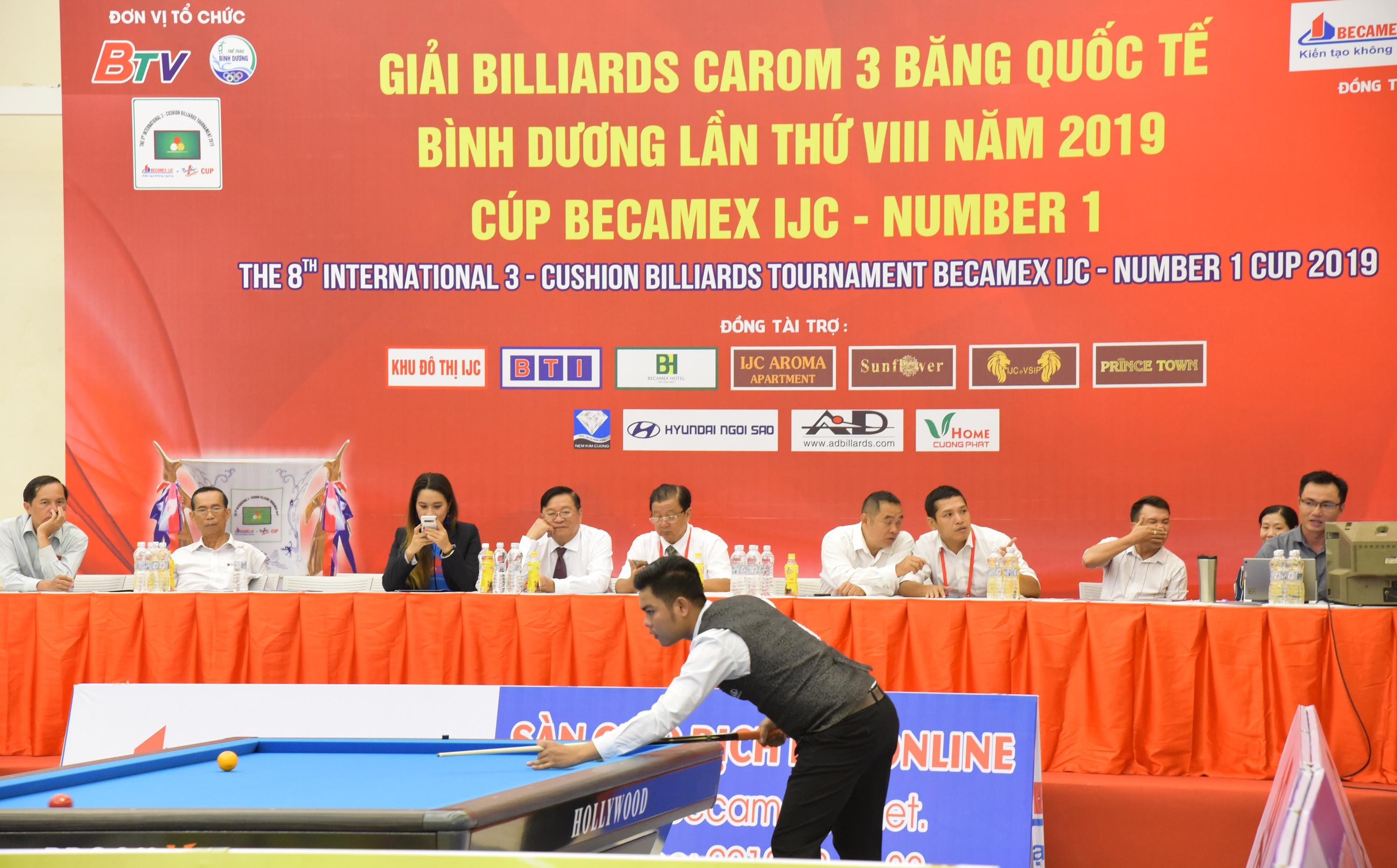 Nước tăng lực Number 1 tiếp tục đồng hành cùng Giải Billiards Carom 3 băng quốc tế Bình Dương - Ảnh 2