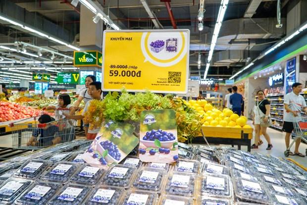 VinMart là nhà bán lẻ Việt đầu tiên được nhập khẩu việt quất từ Mỹ  - Ảnh 7