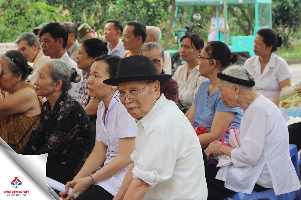 Bệnh viện An Việt khám tri ân đối tượng chính sách huyện Gia Lâm - Hà Nội  - Ảnh 2