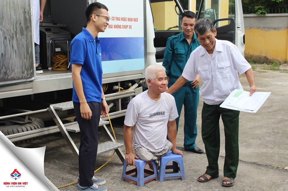 Bệnh viện An Việt khám tri ân đối tượng chính sách huyện Gia Lâm - Hà Nội  - Ảnh 1