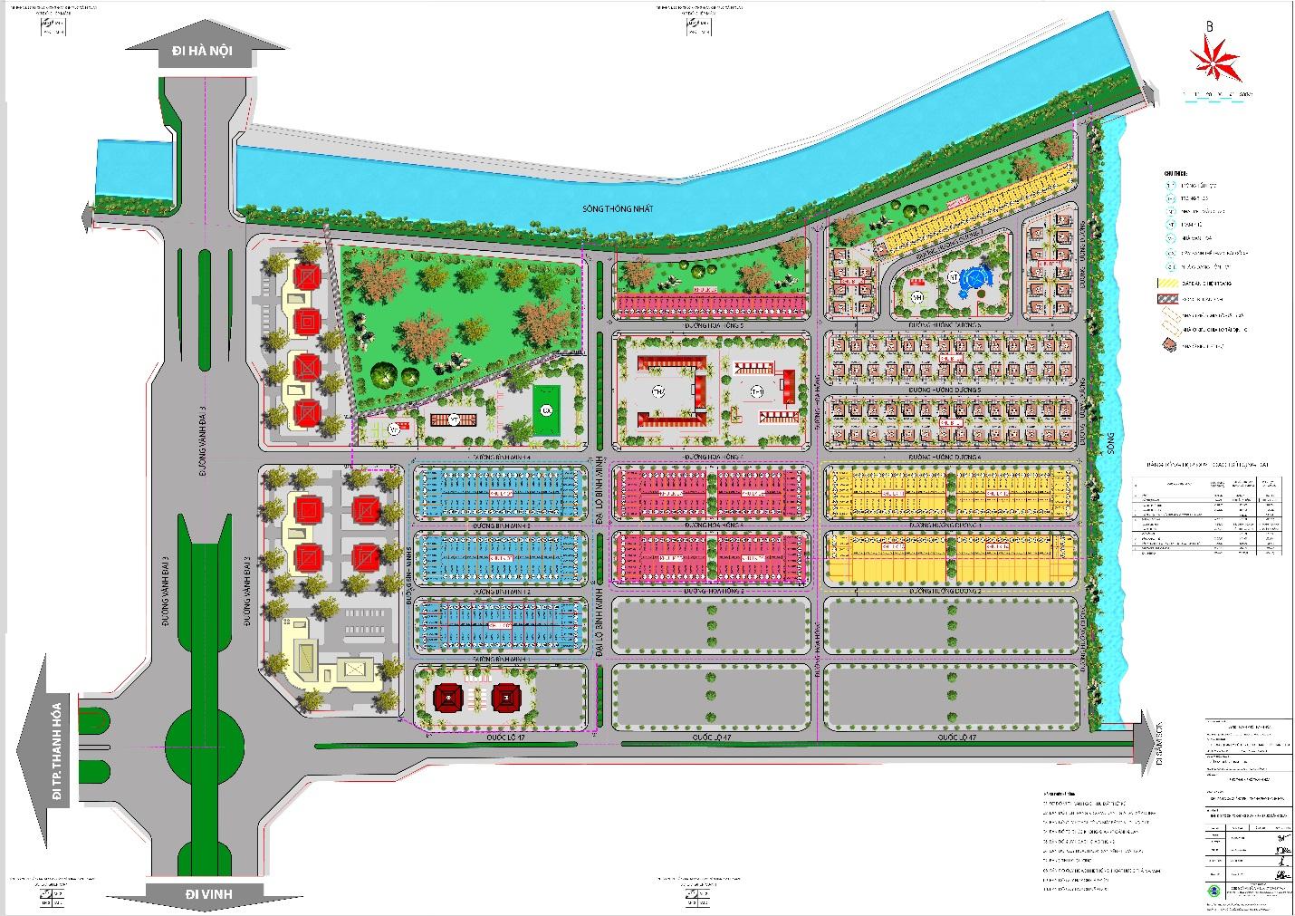 Nhiều dự án bất động sản hưởng lợi lớn từ quy hoạch chung xây dựng thành phố Thanh Hóa đến 2025 tầm nhìn 2035 - Ảnh 2
