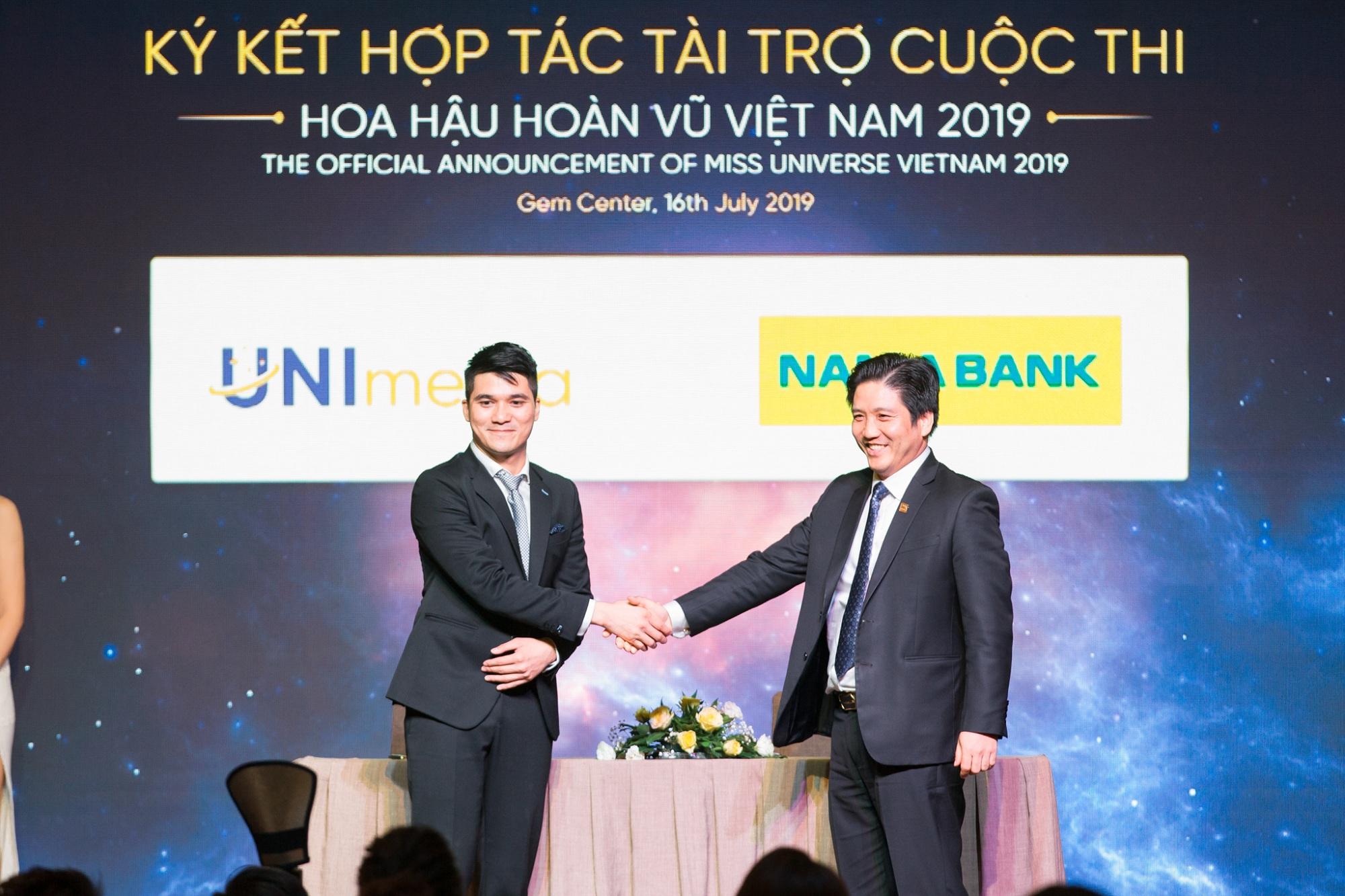 Nam Á Bank - Ngân hàng chính thức đồng hành xuyên suốt cùng cuộc thi hoa hậu hoàn vũ Việt Nam 2019  - Ảnh 1