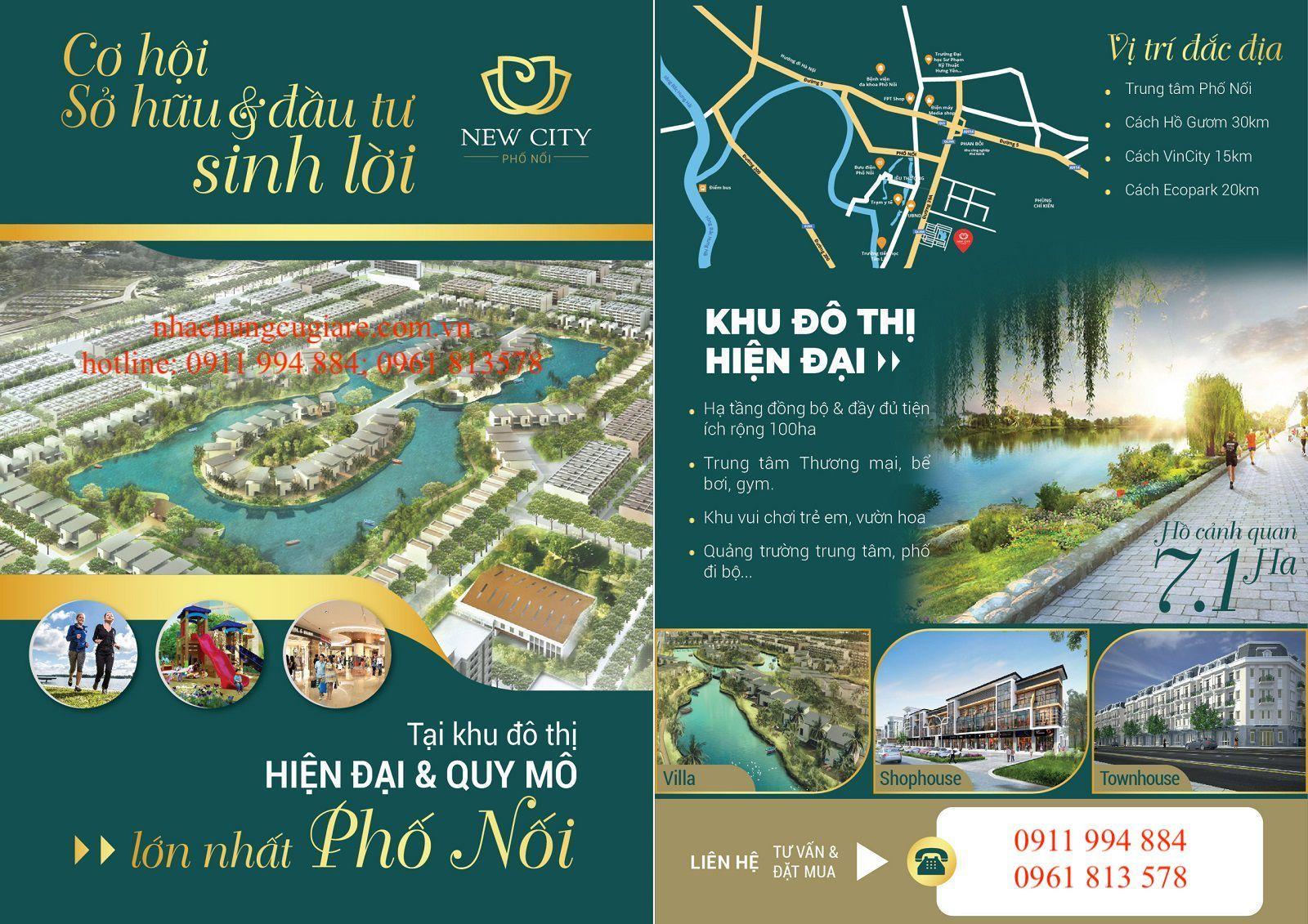 New City Phố Nối – Dự án làm nóng thị trường Hưng Yên  - Ảnh 5