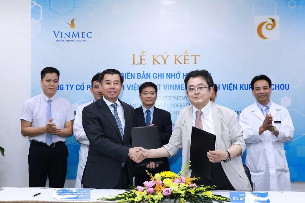 """Nhật Bản chuyển giao công nghệ điều trị ung thư gan """"siêu chọn lọc System - I"""" cho Vinmec  - Ảnh 1"""